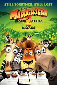 מדגסקר 2 הבריחה לאפריקה לצפייה ישירה
