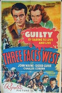 Three Faces West כרזה