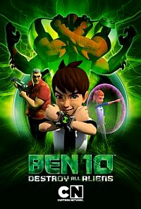 Ben 10: Destroy All Aliens כרזה