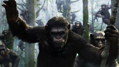 """""""כוכב הקופים: השחר"""": פנטזיה ריאליסטית"""
